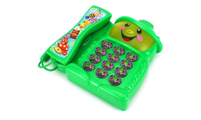 Electronic Learning Toys : Learn play telephone electronic learning toy phone
