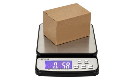 110LBs/1G High Precision LCD Digital Postal Scale Kitchen Electronic Scale
