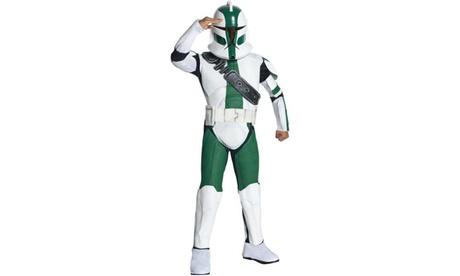 Star Wars The Clone Wars - Clone Trooper Commander Gree Child Costume 0d287246-5cee-43f7-968d-54c00bfdcf9a