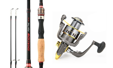 Spinning Fishing Reel and Fishing Rod Fishing Rod and Reel Combo Fishing Gear