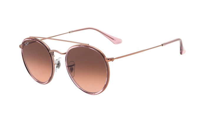 Ray Ban Round RB3647N Light Pink Sunglasses   Groupon e9c7834e88