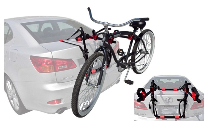 Rackpro 2 Bicycle Hatch Trunk Mount Bike Rack