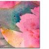 Sheila Golden 'Composition in Pink' Canvas Art
