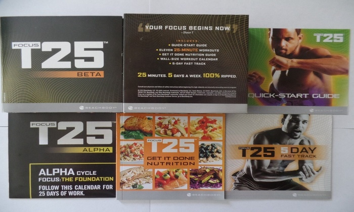 Up To 72% Off on Focus T25 Complete Workout Fi    | Groupon