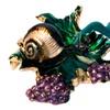 Year End Clearance Snail on Leaf Keepsake Box
