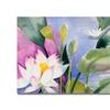 Sheila Golden Lotus Pond . Canvas Print
