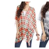 Blue Plate Women's 2-Way Poncho Cover-Up