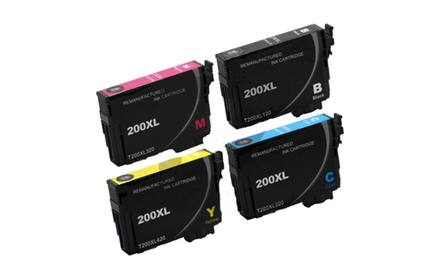 Epson 200xl Compatible Combo Set (BK/M/C/Y)