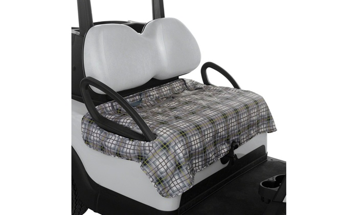 Stupendous Fairway Golf Cart Seat Blanket Cover Groupon Caraccident5 Cool Chair Designs And Ideas Caraccident5Info