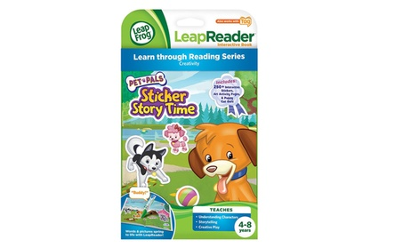 LeapFrog LeapReader Book: Pet Pals Sticker Story Time (works with Tag) fe5f76dc-1983-45df-b172-826ae3aada89
