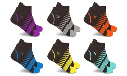 XTF Ultra V-Striped Ankle Compression Socks (6-Pack) Was: $79.99 Now: $13.99.