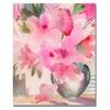 Shelia Golden Pink Azaleas Canvas Print