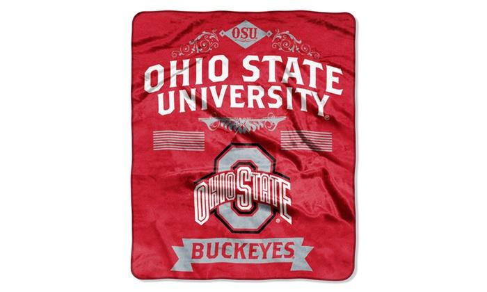 COL 704 Ohio State Label Raschel