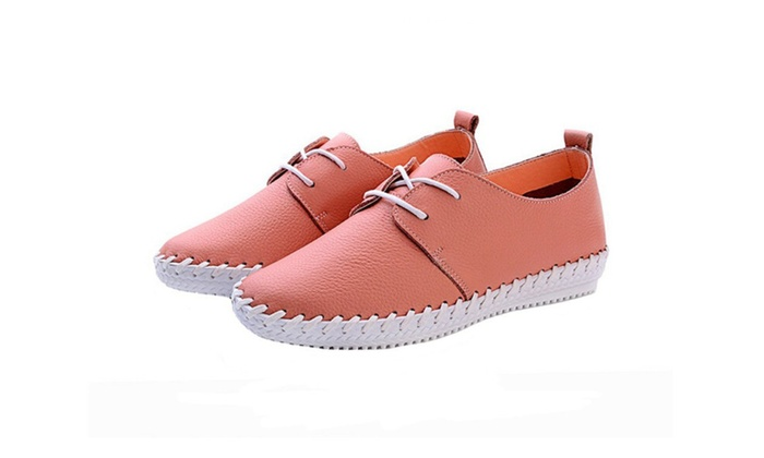 Women New Style Flats Shoes Low Top Moccasin Style Shoes