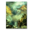Thomas Moran Mist in the Canyon Canvas Print