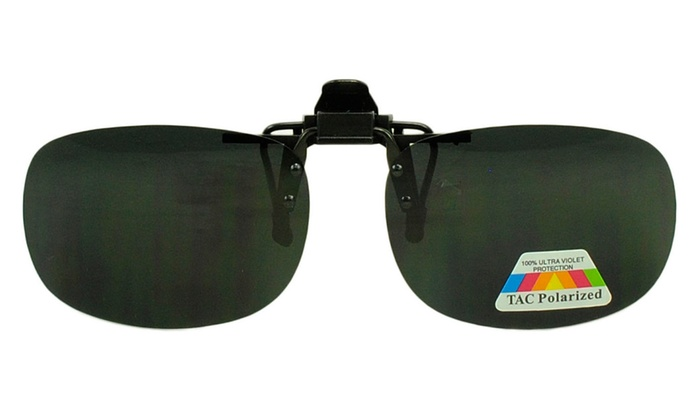Anti Glare Polarized Clip On Flip Up Sun Blocking Glasses for Readers