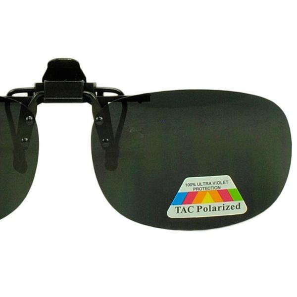 78e89403c Anti Glare Polarized Clip On Flip Up Sun Blocking Glasses for Readers |  Groupon