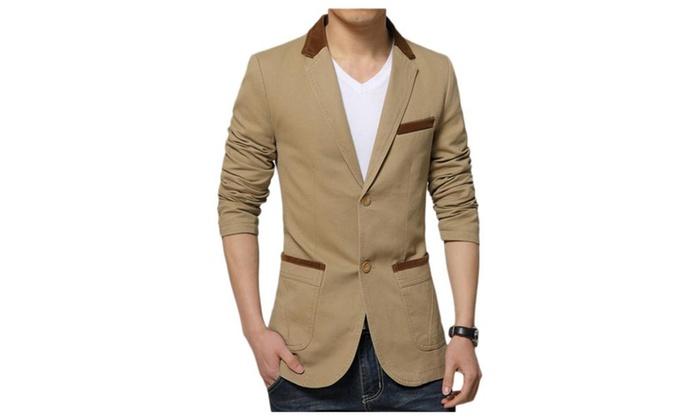 Men's Slim Fit Casual Premium Blazer Jacket