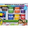 Mattel RoseArt® Washable Sidewalk Chalk Paint Super Set CXX66
