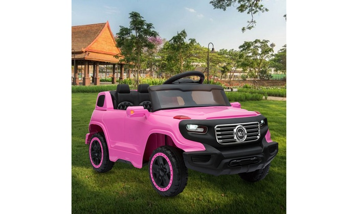 Electric Cars For Kids Pink Mini Car Toy Kids Ride On Car W Remote Control Groupon