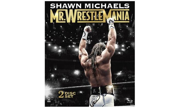 WWE: Shawn Michaels: Mr. WrestleMania  (2-Disc)(Blu-ray)