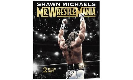 WWE: Shawn Michaels: Mr. WrestleMania (2-Disc)(Blu-ray) 8fb1bc0c-cff1-4aa8-b4b8-e04a62f2e7d7