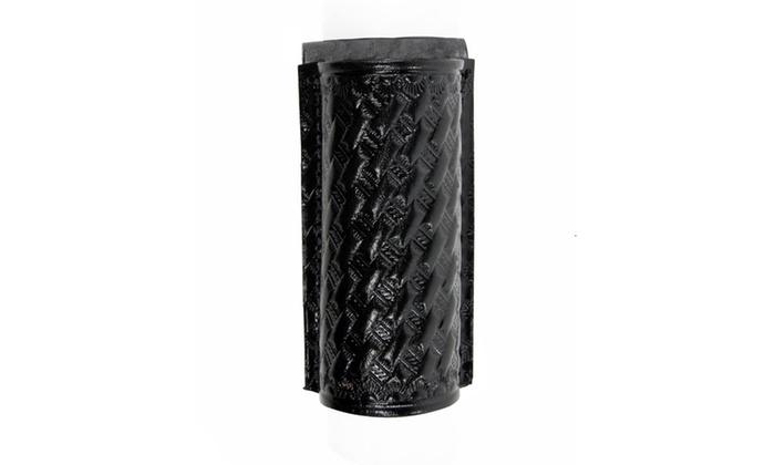 TerraLUX InfiniStar Basket Weave Leather Black Holster
