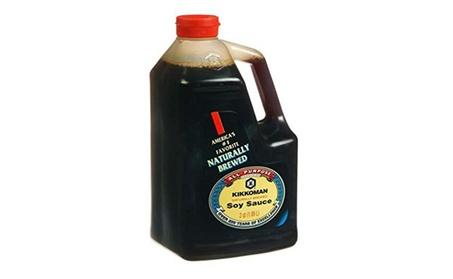 Kikkoman Soy Sauce, 64-Ounce Bottle (Pack of 1) 3e50af71-8cbe-4b87-97c6-0ae0cf7b62c5