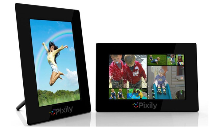 digital picture frame automatically displays your favorite photos - Electronic Photo Frames