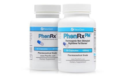 PhenRx and PhenRx PM Diet Pill Weight Loss Combo
