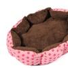 Sweet Dog Bed Puppy Cat Fleece Warm Cozy Nest House