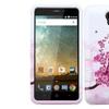 Insten Tuff Hard Dual Coated Silicone Case For ZTE Prestige Pink White