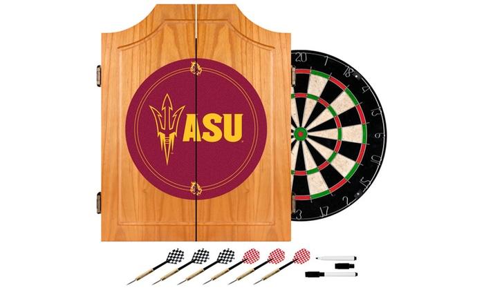 Arizona State University Dart Cabinet Set
