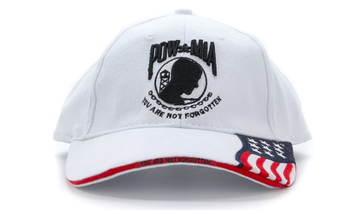 POW-MIA You Are Not Forgotten with The USA Flag Baseball Cap d7ce226ea13