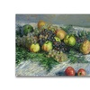 Claude Monet Still Life with Pears and Grapes Canvas Print