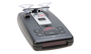 Radar and Laser Detector with DSP High Performance Pro Long-Range