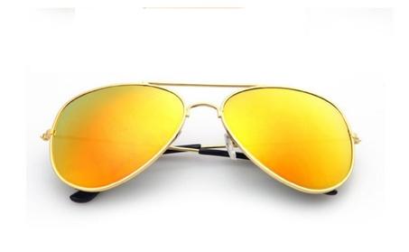 Polarized Aviator Mirrored Lens UV Protection Sun Glasses feb1da17-e349-433c-9ea5-b8ac389f7c49
