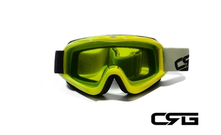 CRG Motocross ATV DIRT BIKE OFF ROAD RACING GOGGLES Adult CRG26-13