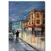 Ryan Radke Night Lights Green Bay Canvas Print