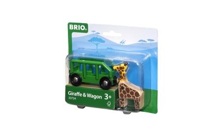 Brio Railway - Rolling Stock - Giraffe and Wagon 33724 d4a9c234-91e8-44b0-906b-416f1601a6fa