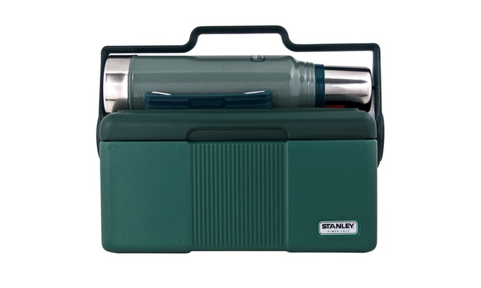 Stanley Adventure Heritage Cooler and Classic Vacuum Bottle | Groupon
