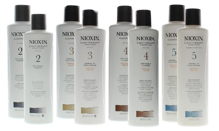 Nioxin Hair Cleanser and Scalp Therapy Duos 2-Pack Was: $44 Now: $22.99.