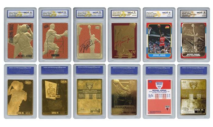 59c9d507ac8f Michael Jordan Officially Licensed Card Set (6-Piece)