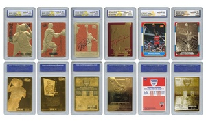 Michael Jordan Officially Licensed Card Set (6-Piece)