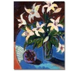 Shelia Golden A Bowl of Cherries Canvas Print