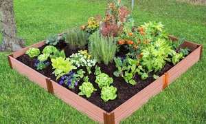 Classic Sienna Raised Garden Bed, 8 ft. x 8 ft. x 11 in. (1 inch profile)