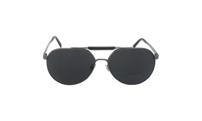 040927ca860 Versace VE 2155 1001 87 - Gunmetal ...