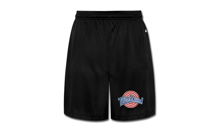 ffa68ac278bca6 Space Jam Tune Squad Logo Male Shorts Sweatpants