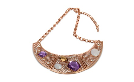 BOLD ARCH II STATEMENT NECKLACE