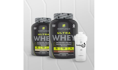 Bodylogix Ultra Whey Isolate Blend (4lb.) with Bonus Shaker Cup 48c22d08-a204-4590-a1ce-a48277fe8319